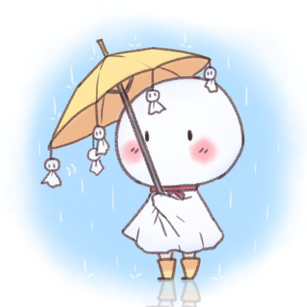 Senpai!! fanart 天気の子 天野凪 てるてる坊主 新海誠