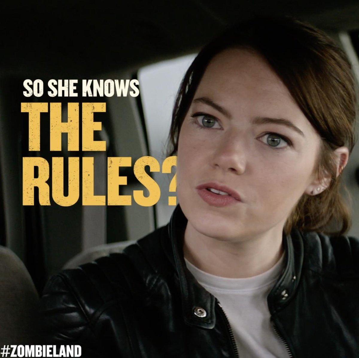 Seatbelts save lives. #Zombieland 10.18.19