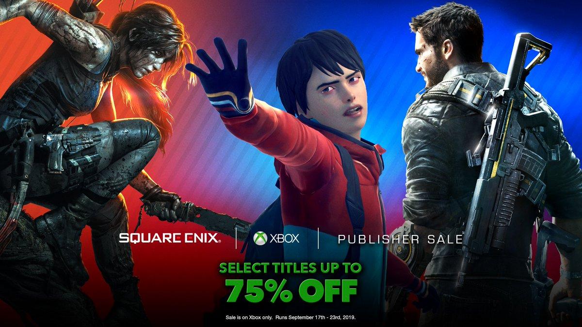 Save big, play bigger.Shop the Square Enix sale: https://xbx.lv/2kRwlgP