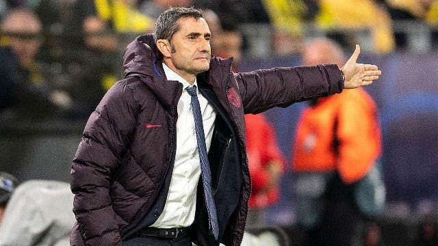 "#UCL 🏆 | #BVBBarça ⚽   🗣️ Valverde: ""Hemos sufrido mucho""  ▶️ http://bit.ly/2V2ecdO"