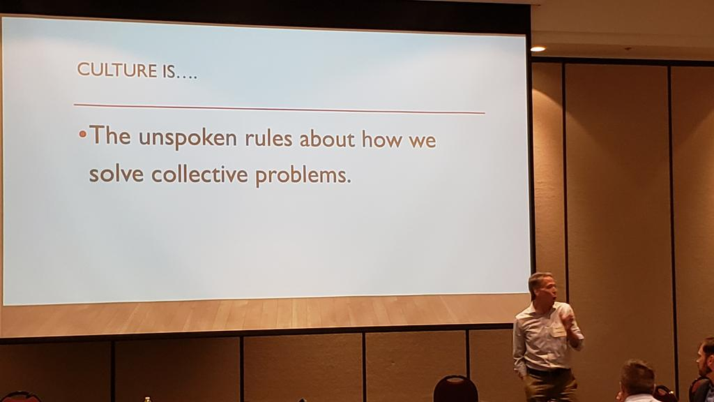 Culture is... the unspoken rules about how we solve problems #UtahL10n<br>http://pic.twitter.com/owyoVEhaeh