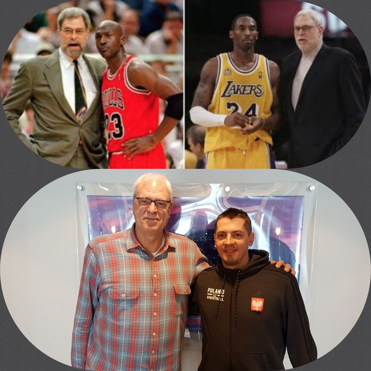 what is the difference ???😅😉  HAPPY BIRTHDAY @PhilJackson11, #NBABDAY #nba #Bulls #Lakers #Knicks @chicagobulls @Lakers @nyknicks #RunWithUs #LakeShow #NewYorkForever @BullsArchive #NBApl