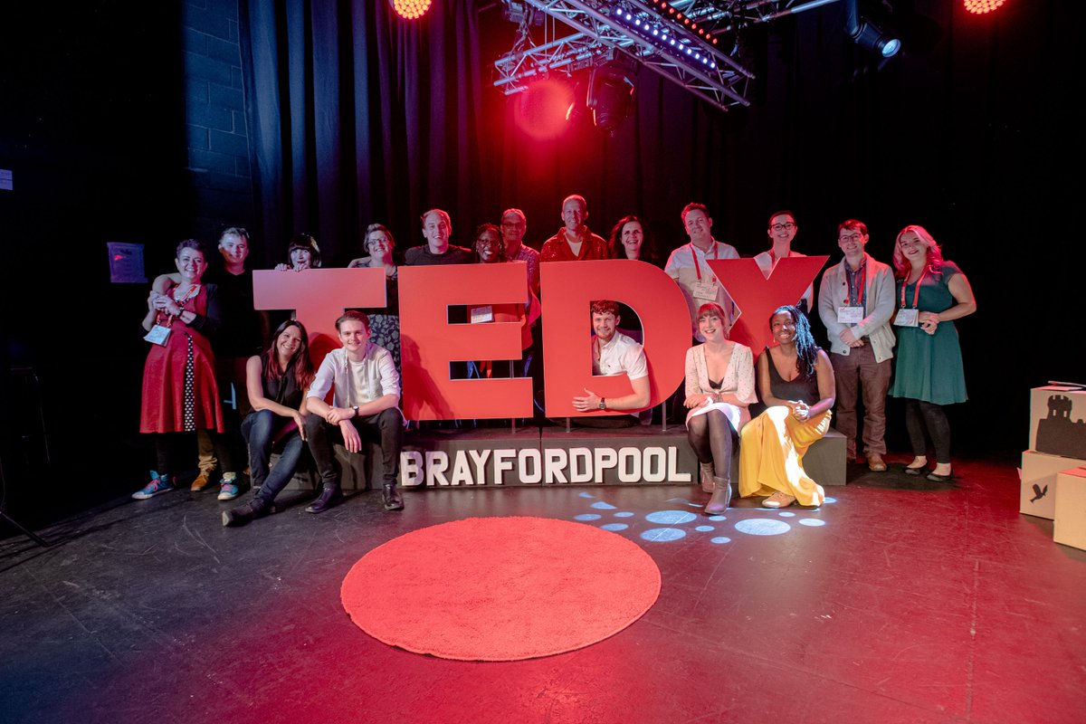 It is one of the things I continue to be proud to be a part of! #TEDxFamily