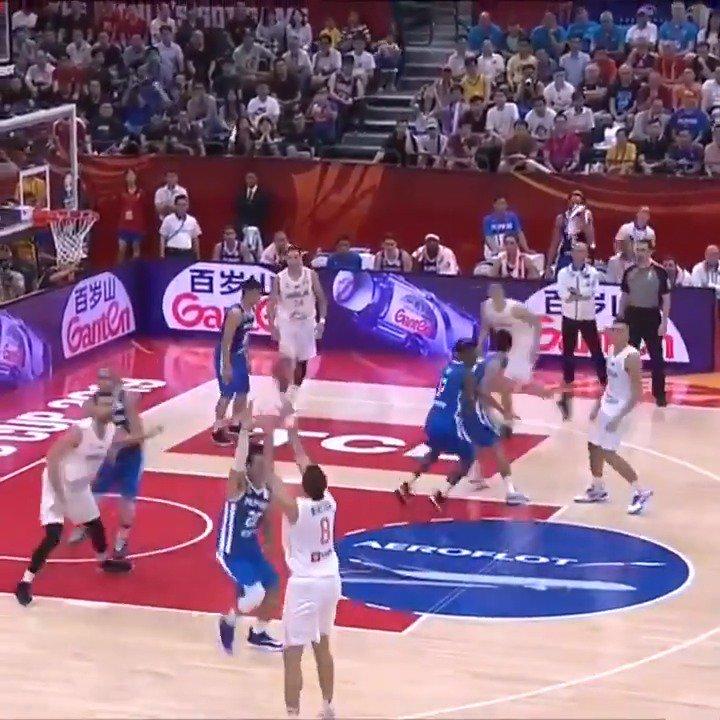 👀 the best from @KSSrbije's Bogdan Bogdanovic (22.9 PPG, 53.0 3P%) during the 2019 @FIBAWC! @LeaderOfHorde #SrbijaGotGame