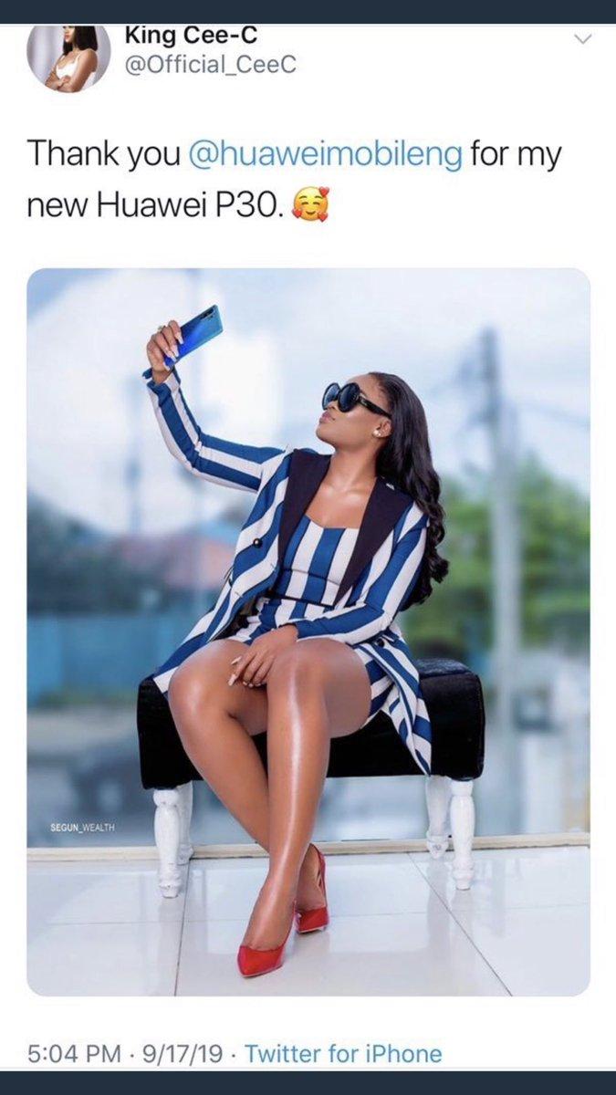 Your CeeC is promoting huawei P30 Phone tweeting with twitter for iPhone  <br>http://pic.twitter.com/eJYv4HGe3q