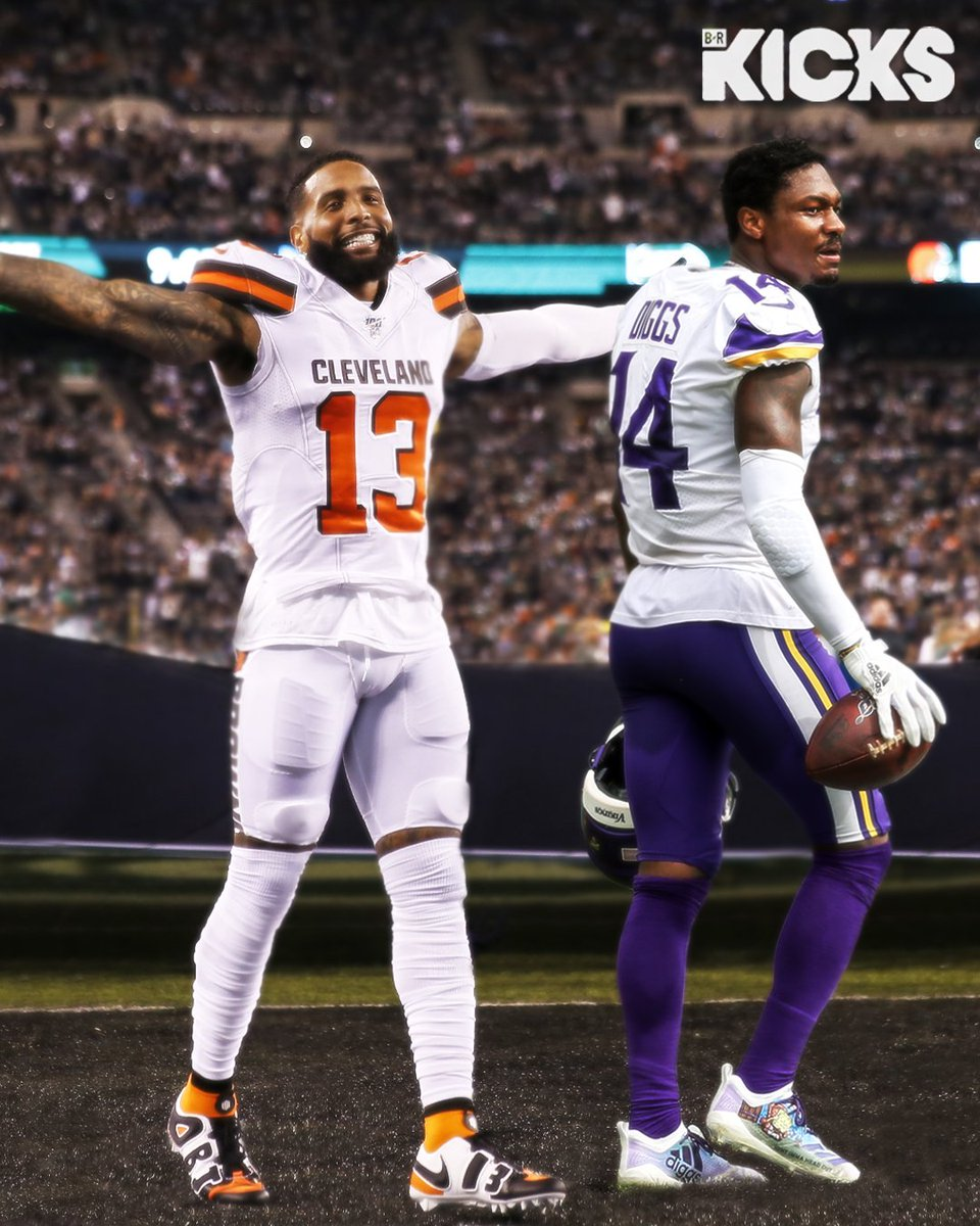 OBJ or Diggs? Who brought more heat in Week 2? 🔥 @brkicks https://t.co/8RW3mbh6Np