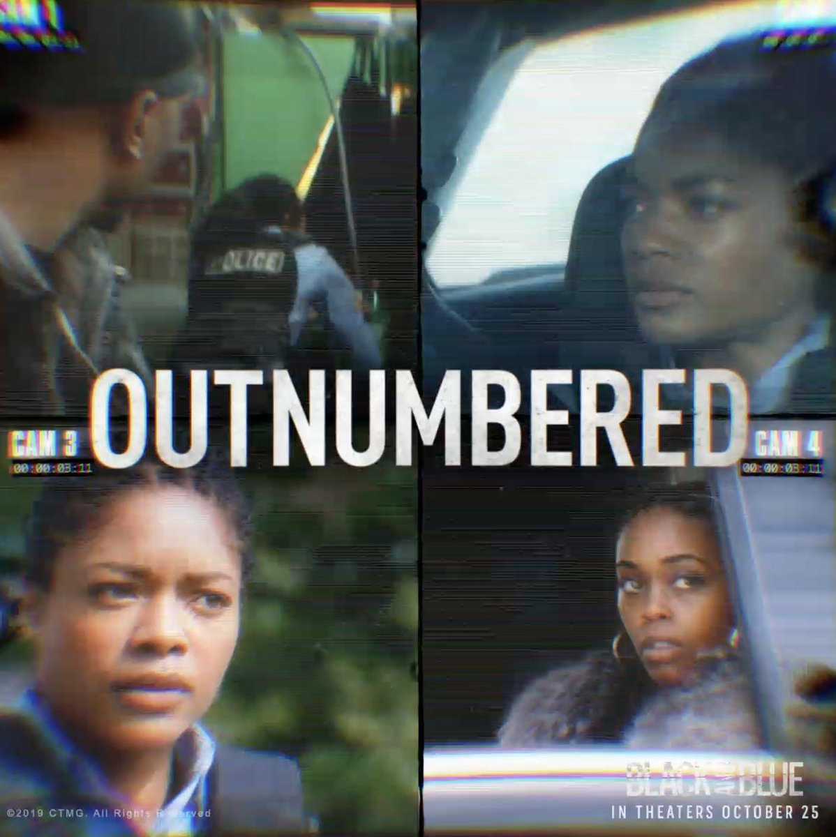 Outrun. Outnumbered. Outlast. @BlackBlueMovie - in theaters October 25th.