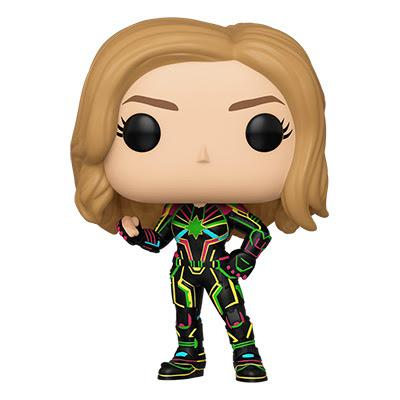 We are down to Week 3 of #FANtember and this week's Giveaway is the Neon Suit #CaptainMarvel Funko POP To Enter: Follow @GeekVibesNation Tag at least one friend Retweet this tweet (Winner chosen 9/21)