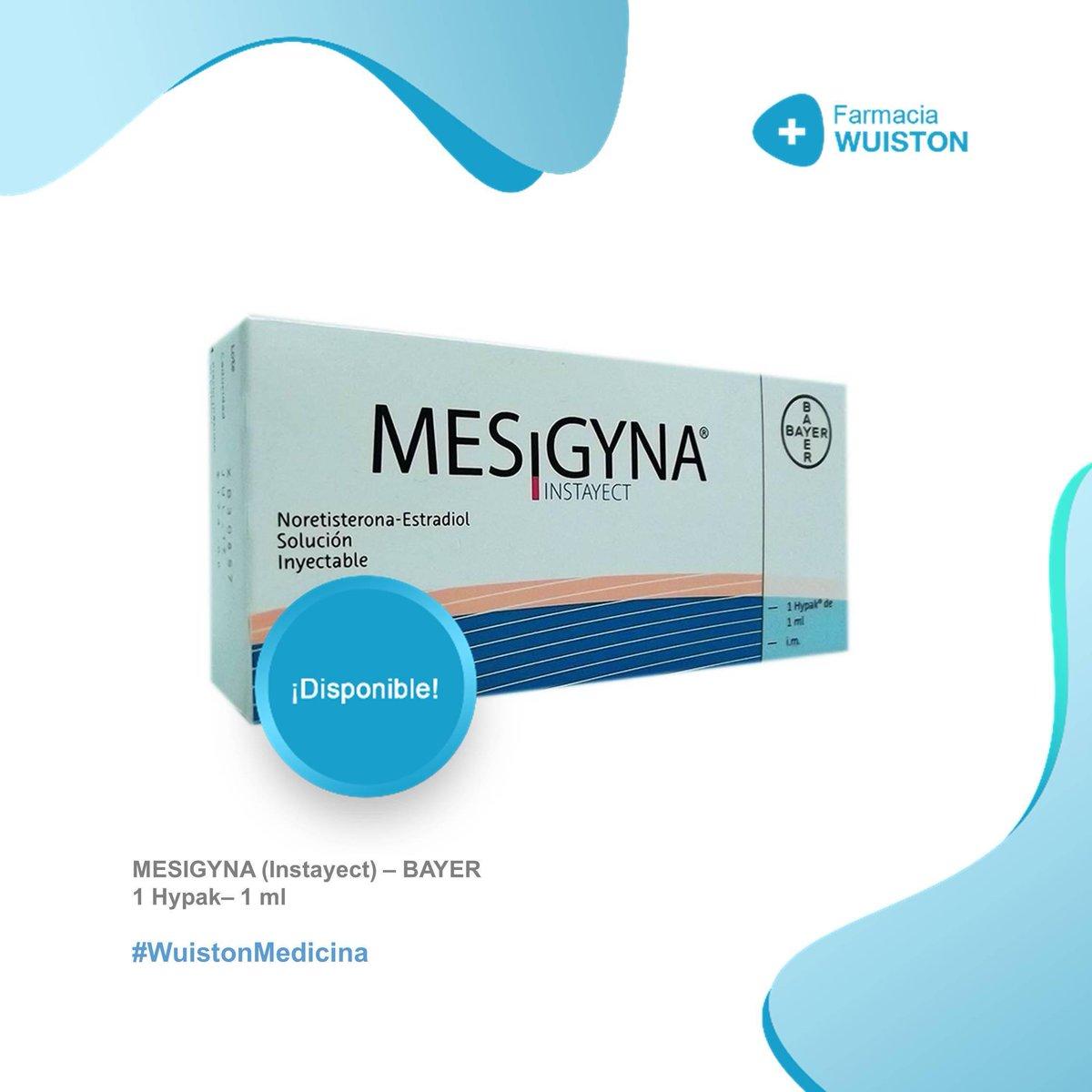 Farmacia Wuiston على تويتر Contamos Con Los Siguientes Medicamentos Mesigyna Anticonceptiva 1ml Levofloxacina 500 Mg X 10 Valpron 500mg X 30 250mg X 180ml Claritromicina 500mg X 10 0212 8601856 Serviciopublive 17sep