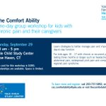 Image for the Tweet beginning: The Comfort Ability workshop is