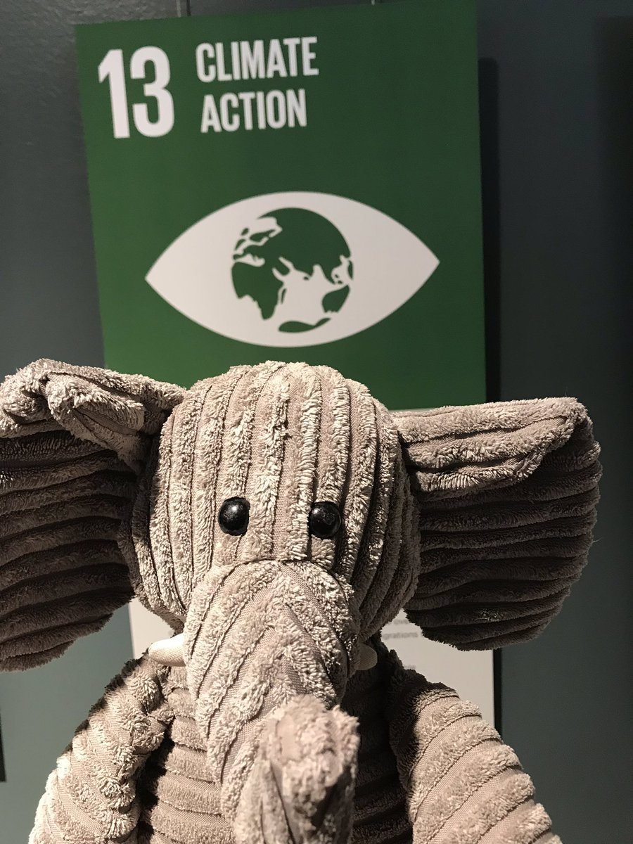 We are one world, one human race and we need to solve #RestoreTheClimate together! #WhereIsEllie 🐘 🏴
