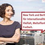 Image for the Tweet beginning: #Berlin und #NYC unterzeichnen erstmals