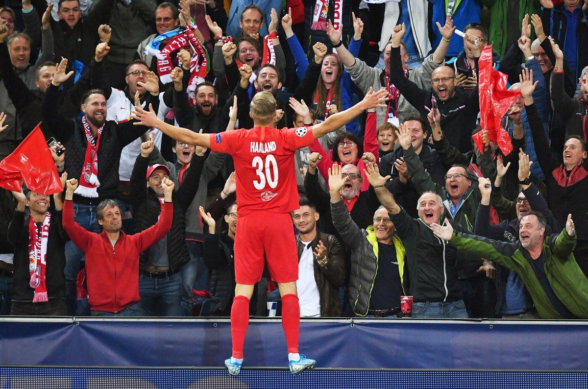 FC Salzburgs Erling Haaland dominiert auch in der Champions League: Nur Raul und Wayne Rooney waren besser