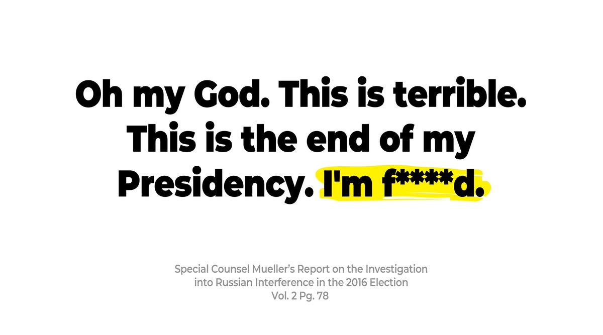 Mueller Report. Volume 2, Page 78. #CultureOfCorruption #CoverUp https://t.co/DaHjvlmPeq