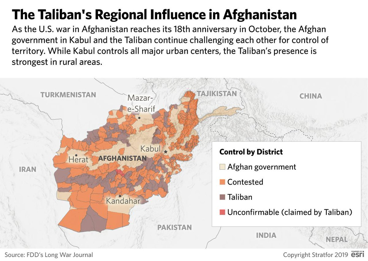 """""""Osama bin Laden's #alQaeda organization was able to plot the attacks — which killed 2,977 people — from #Afghanistan under the shelter of the #Taliban government, which ruled the country at the time.""""  http:// ow.ly/yGGw50wdymx    <br>http://pic.twitter.com/Y4v9YQlZGy"""