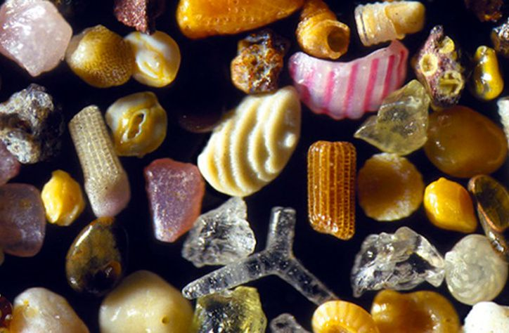 From the archive 📚: This is what sand looks like when you zoom in very, very close > bit.ly/2O7ntjI