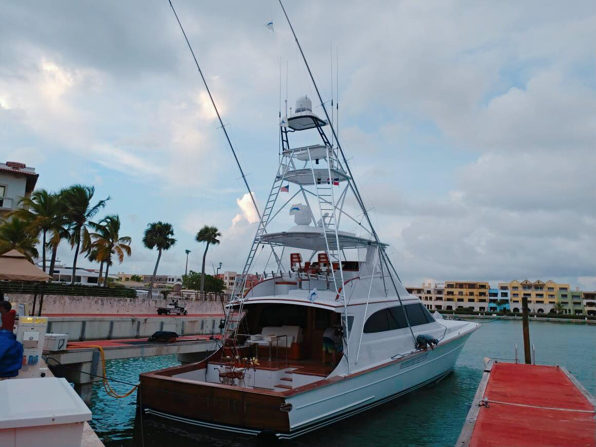 Cap Cana, DR -  Reel Tight 4-6 on Blue Marlin.