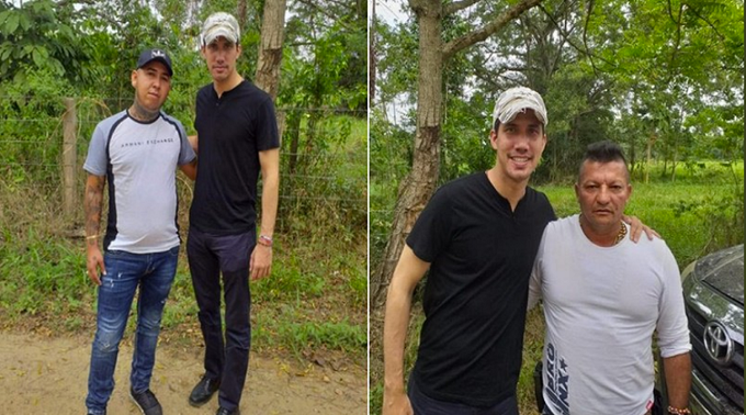 Rechazamos el intento del régimen de Maduro de desprestigiar a @jguaido solo por tomarse fotos con narcos y paramilitares. Si fuera por fotos con narcos y paramilitares, un hombre digno y recto como @AlvaroUribeVel ya estaría desprestigiadísimo