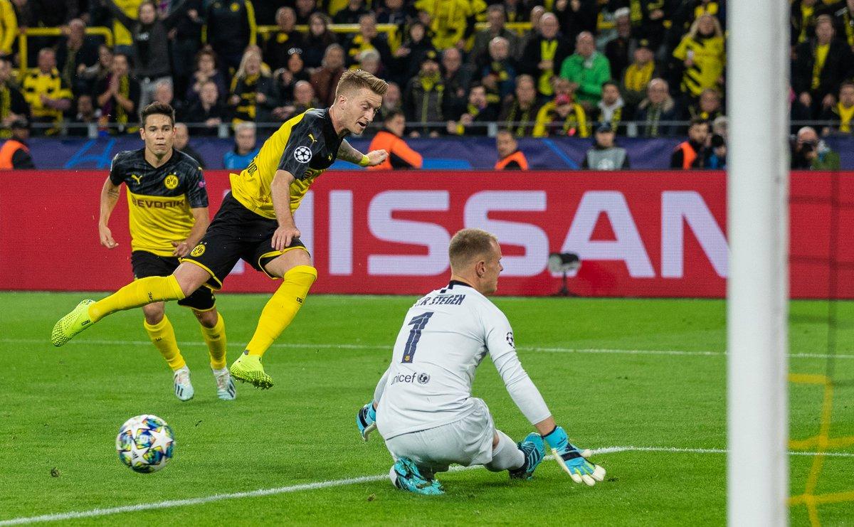 🚫 Marc-André ter Stegen denies Dortmund again...  #UCL