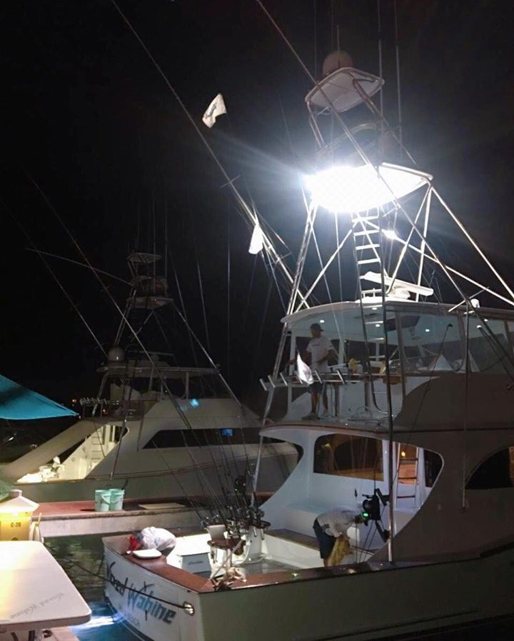 Cap Cana, DR - Wicked Wahine went 4-4 on Blue Marlin.