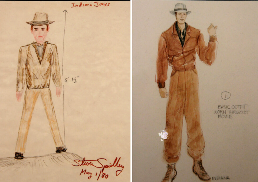 Costumeco On Twitter There S No Arguing That Steven Spielberg Is An Amazing Director But He S No Ridley Scott With The Drawing Skills Here Are Both Spielberg S Original Concept And Costume Designer