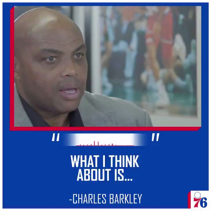 On legacy, and other things.  Our new podcast with Charles Barkley.  🎧 http://sixe.rs/chuckpod