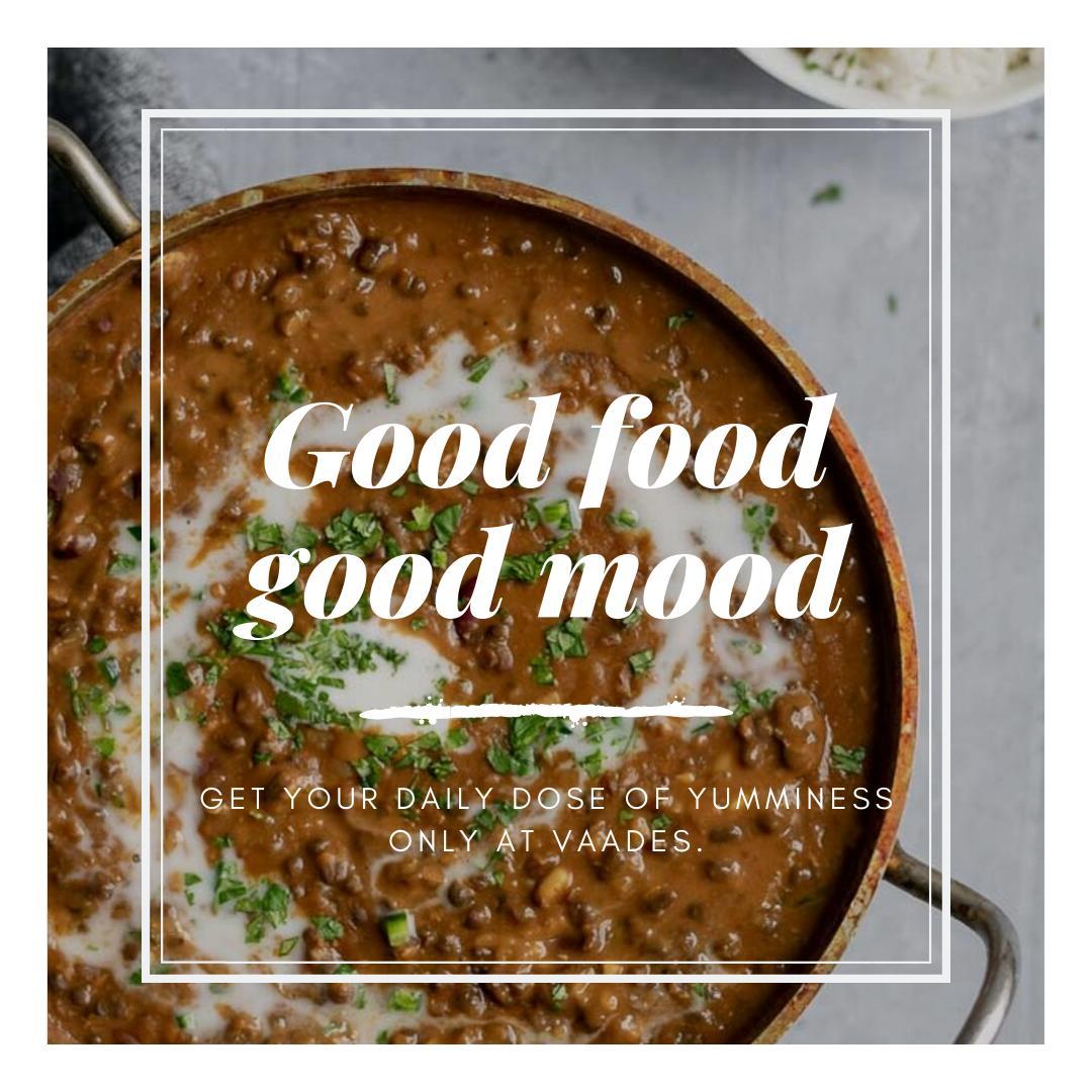 Good food = good mood 🤩🍽 Visit  today or order at ☎ +1 604-973-0123. #yum #delicious #foodporn #indianrestaurant #indianfood #indiancuisine #VaadesRestaurant