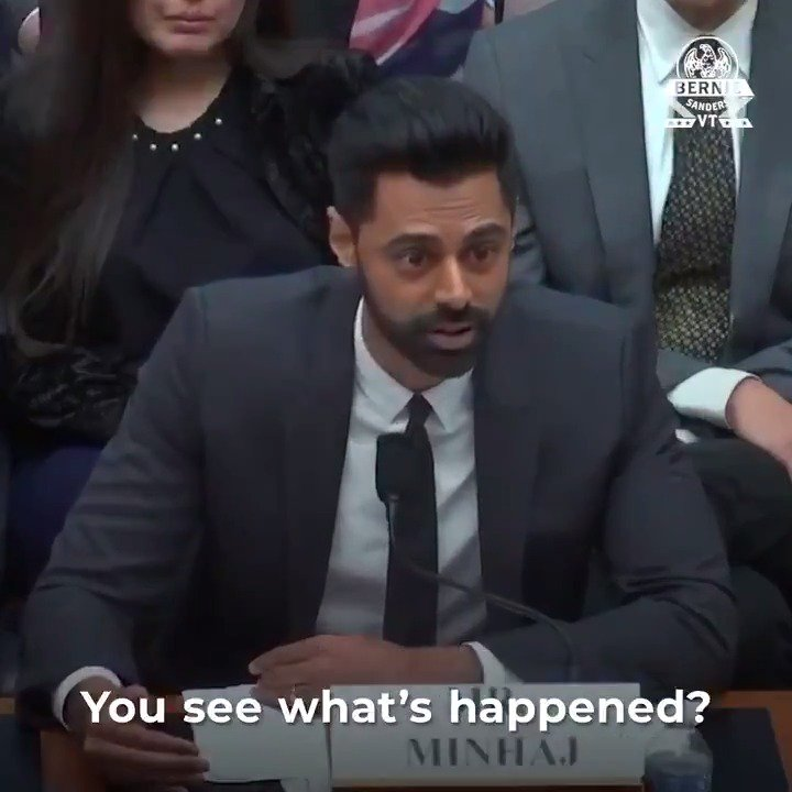 .@HasanMinhaj is right. Instead of just worrying about Wall Street, maybe it's time we start worrying about the 45 million Americans with $1.6 trillion in student debt. We could start by canceling it.