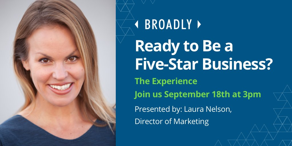 We're here in Las Vegas at The Experience Convention - where are you? Join us TOMORROW, Sept 18th, at 3pm to learn what it means to be a 5-star business in today's digital age. #marketing<br>http://pic.twitter.com/sm3BnFiUso