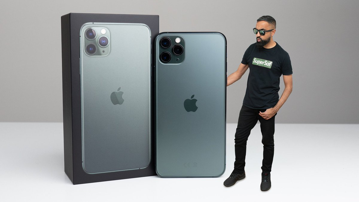 NEW VIDEO: Unboxing the iPhone 11 Pro Max in Midnight Green  ►►►  https:// youtu.be/xK-gWtjf4AM      RTs appreciated <br>http://pic.twitter.com/WtprqTxsIK