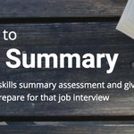 Image for the Tweet beginning: How can #SkillsSummary support your