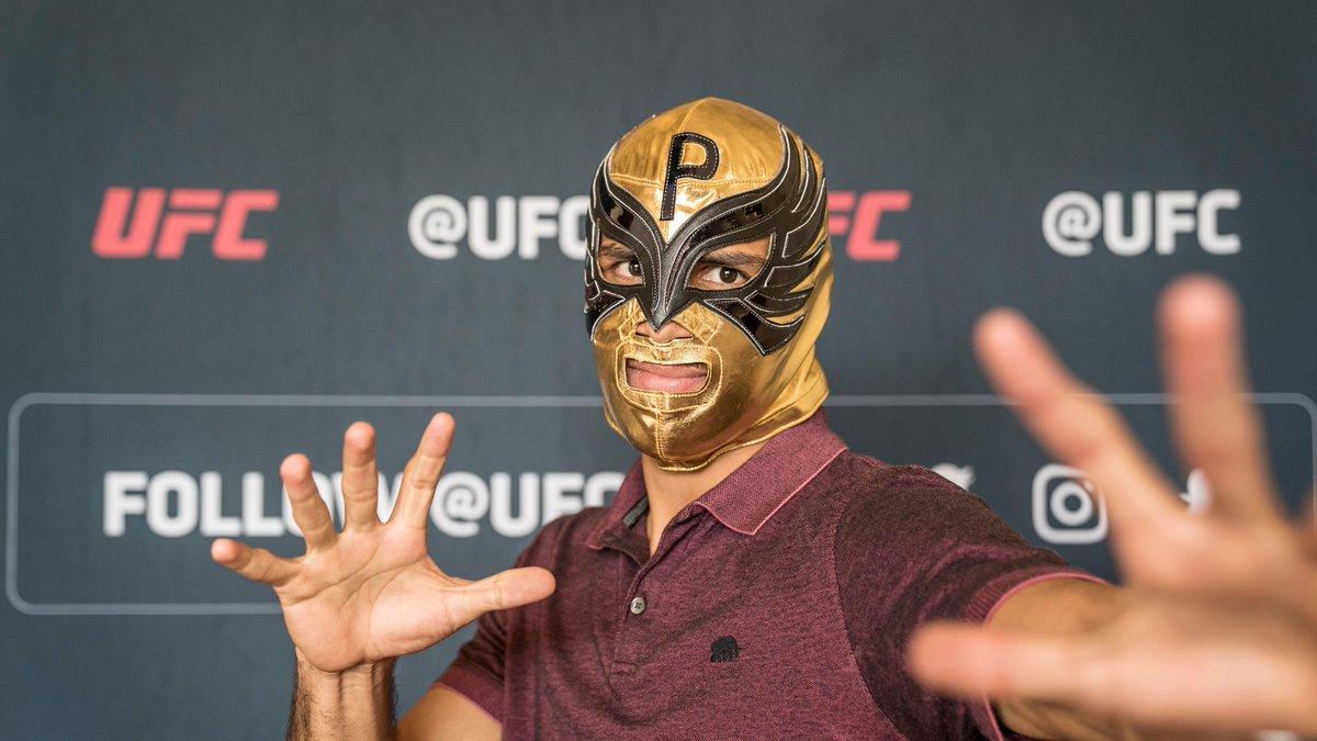 When in Mexico! 🇲🇽   #UFCMexico: @PanteraUFC 🆚 @LilHeathenMMA