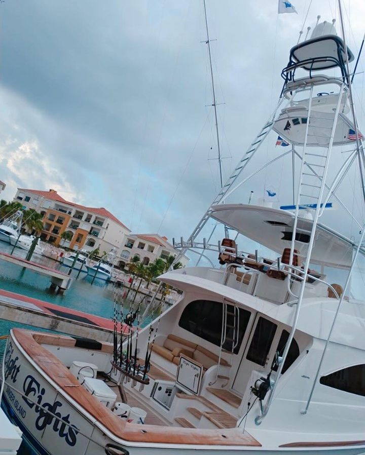 Cap Cana, DR - Eight Eights went 2-2 on Blue Marlin.