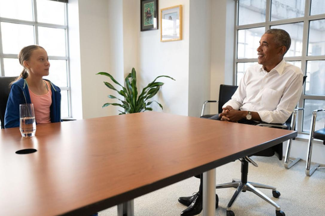 Obama met with @GretaThunberg today in DC: https://t.co/Lb0X8x0X6X