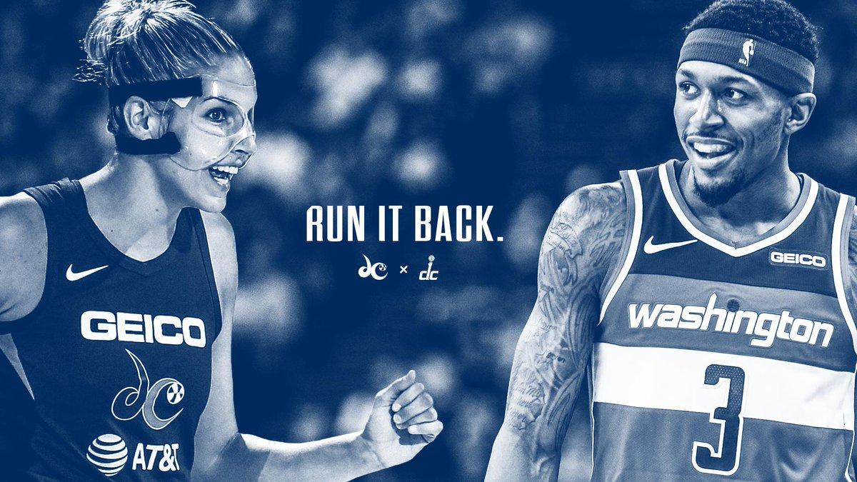 Bring it home, @WashMystics! 🏆  #TogetherDC | #RunItBack