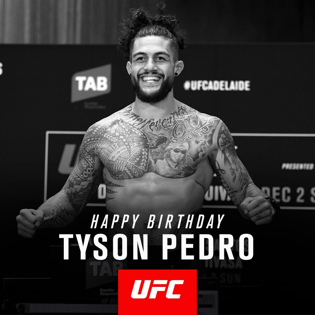 Like to wish @Tyson_Pedro_ a Happy Birthday! 👍