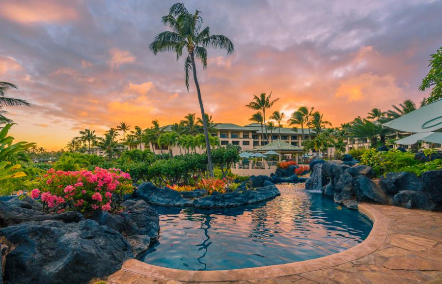 The Grand Hyatt Kauai resort is one of the suggestions in this trip planner to Hawaii