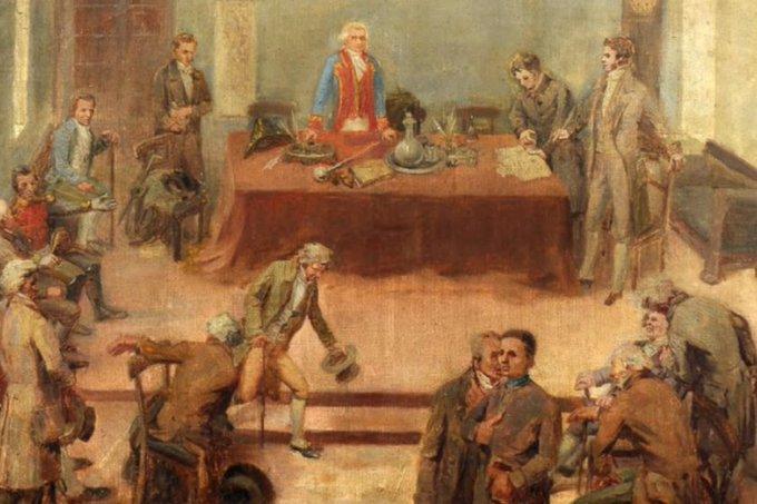 🗣 @QuePasaCL   Columna de Francisco Darmendrail Salvo: Un cabildo que duró más de siete horas dio origen a la Independencia de Chile bit.ly/2V6Dw2v