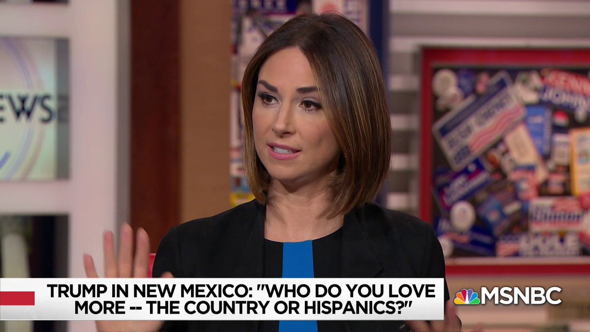 """What we're seeing here I think is also generational... All young people are profoundly affected by this admin, Hispanics especially, and because of rhetoric... There will be many...who are energized by it, we saw that already in the 2018 midterms"" - @HeidiNBC w/ @NicolleDWallace https://t.co/bsUIznuotw"