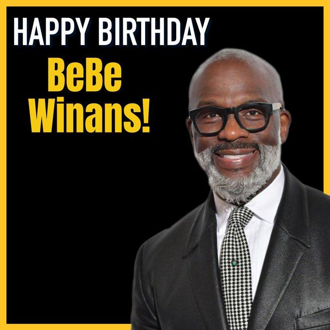 Happy Birthday to BeBe Winans! He\s turning 57 today.