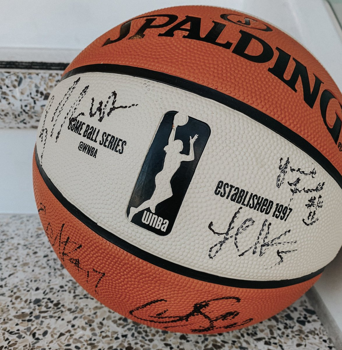 ⁉️ TRIVIA TUESDAY ⁉️  @_Breezy_Briii became the 5th Mercury player to be named to the All-Rookie Team.  Name the other 4 for your chance to win a team autographed basketball!