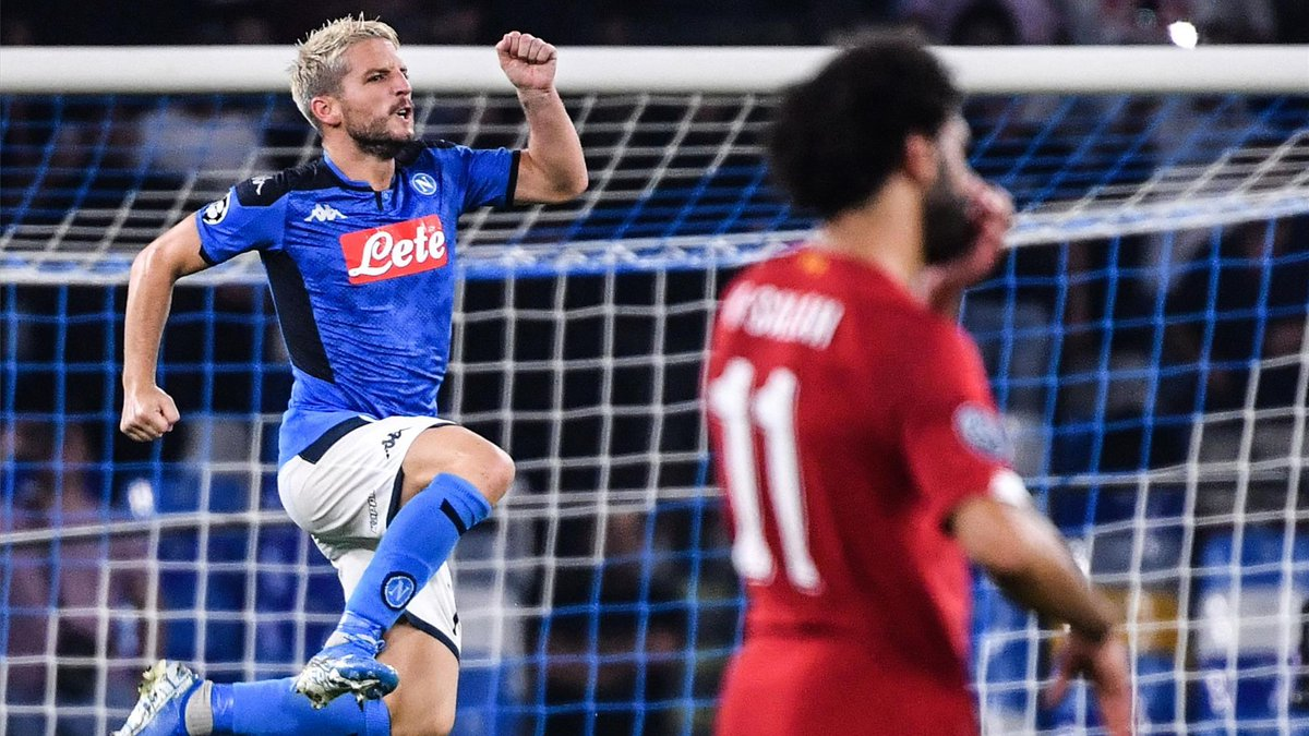 RT diariosporTV: #UCL 🏆 | #NAPLIV ⚽   ⚡ El campeón Liverpool sucumbe en Nápoles  ▶️ http://bit.ly/2Nntnxo
