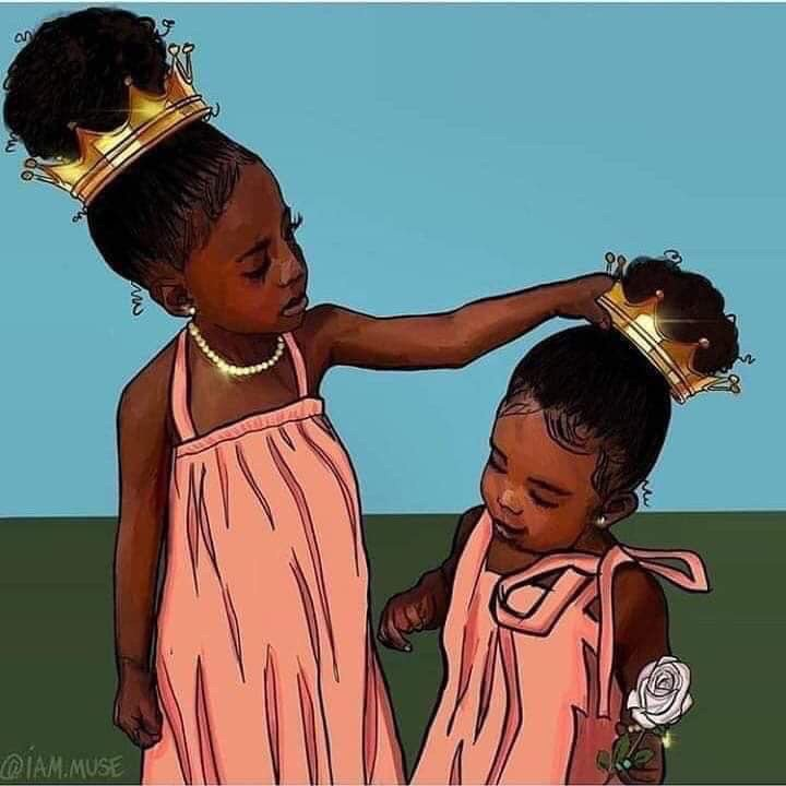Help your sisters adjust their crown.  You are all Queens!!!<br>http://pic.twitter.com/b8jMxlqQ0m