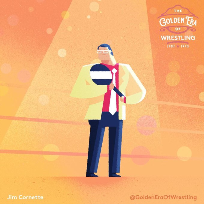 Happy Birthday to one of the all-time great wrestling minds, JIM CORNETTE.