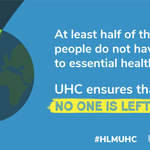 Image for the Tweet beginning: #UHC is a movement for