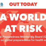 Image for the Tweet beginning: #AWorldatRisk: The world is not