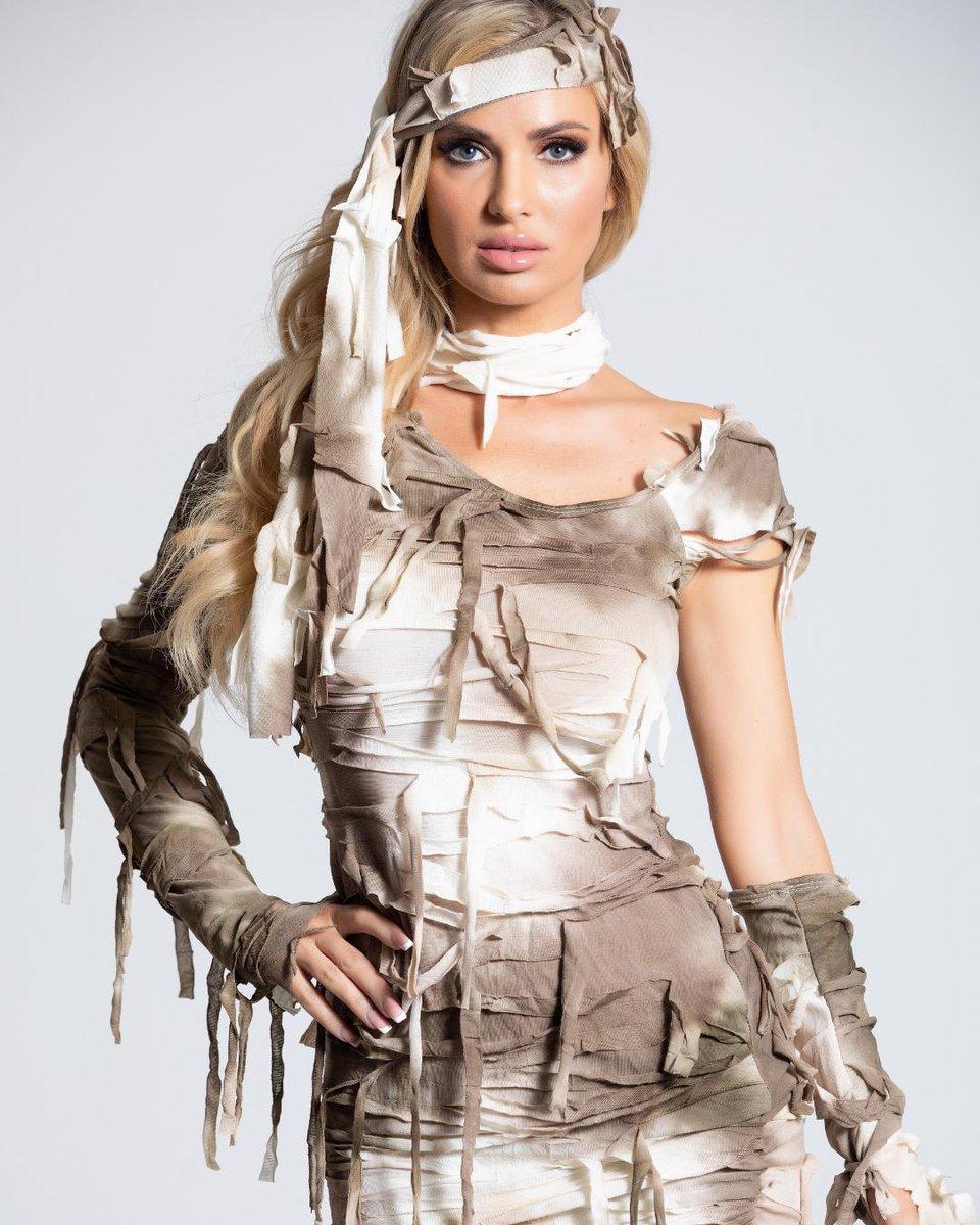Sexy mummy costume for women