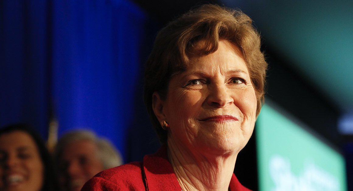 This is Senator Jeanne Shaheen. She is the first-ever woman to be both a Senator and Governor in U.S. history. Trump puppet Corey Lewandowski is considering a run against her to help keep the Senate in Mitch McConnell's hands.RETWEET if you support Shaheen as she runs in 2020!