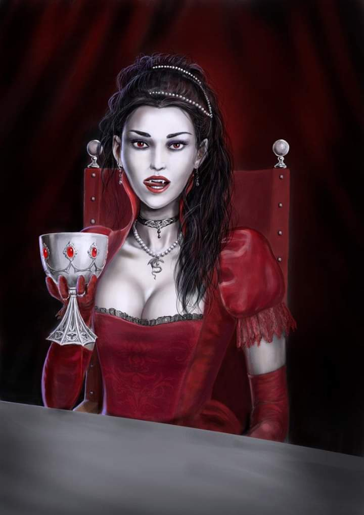 vampire countess who bathed in blood - HD800×1090