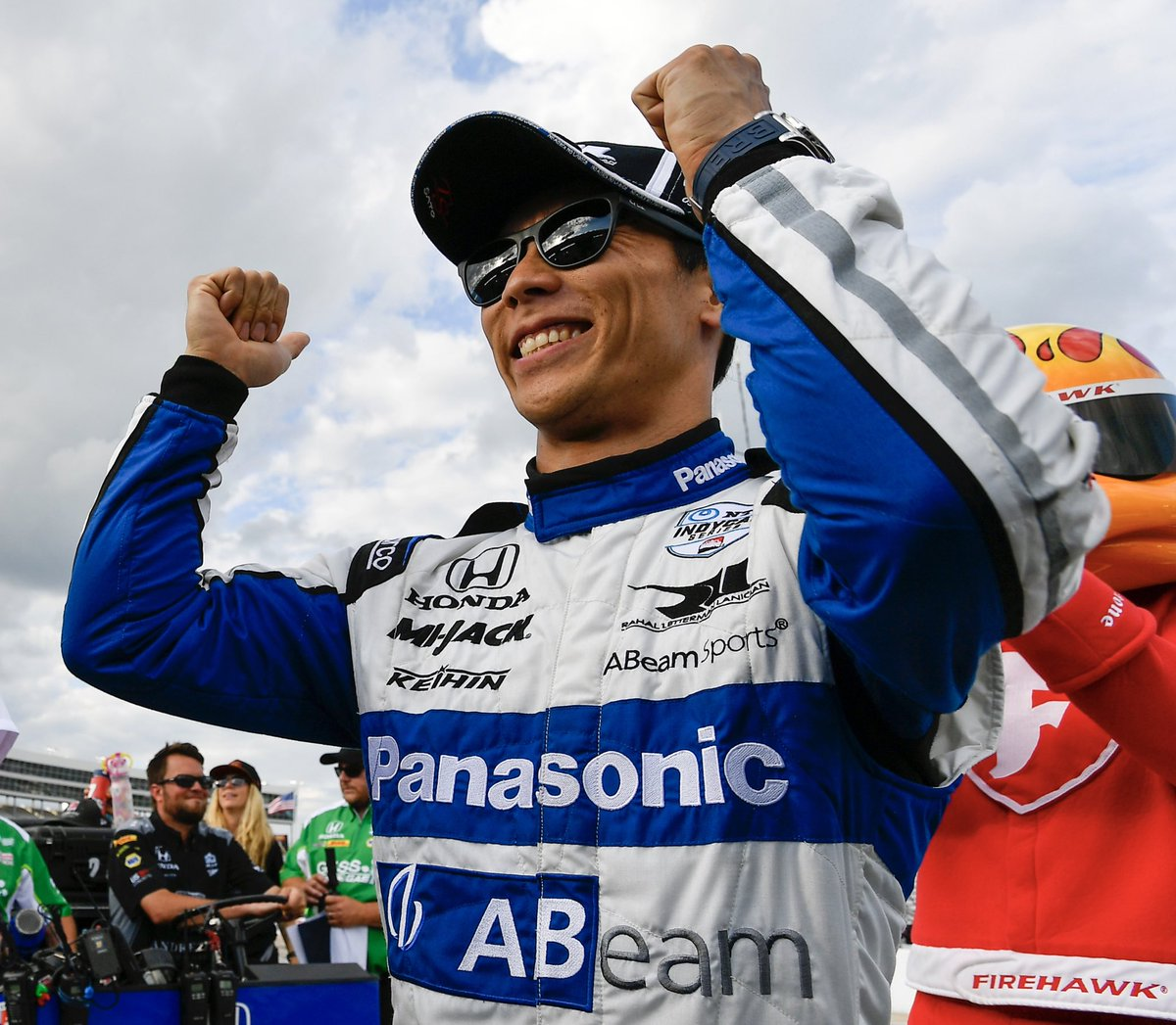 """I think that's an incredible achievement & it will be so tough to repeat but it's really great that the team has such chemistry at #LagunaSeca. We all feel very positive to go there knowing the team's great history there."" — @TakumaSatoRacer on @BobRahal's 4 Laguna Seca 🏎 wins"